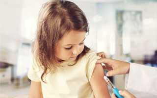 Аллергия после прививки