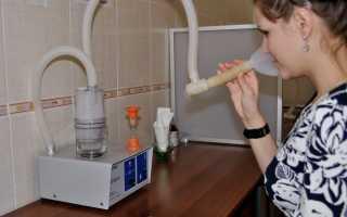 Как сделать ингаляцию ребенку при кашле