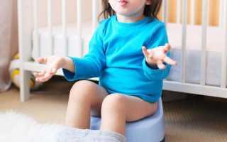 Как приучить ребенка горшку