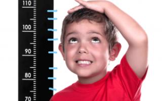 Рост ребенка в полтора года