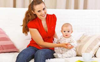 С какого возраста можно сажать грудничка