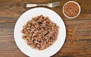 Гречневая диета для похудения: меню на 7 дней