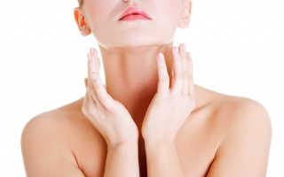 Увеличение воспаление лимфоузлов на шее под челюстью