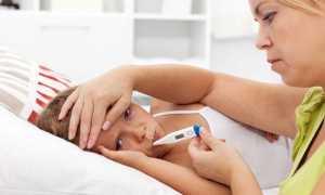 У детей высокая температура и рвота
