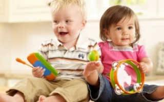 Развитие ребенка от 0 до года