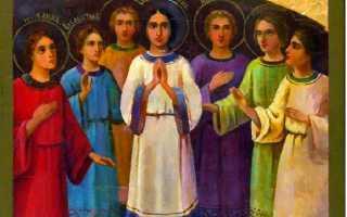 Младенец до какого возраста считается в церкви и со скольки лет ребенок несет ответственность за свои грехи