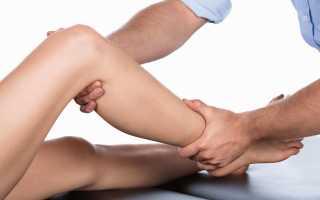 Боль в ноге от колена до стопы