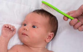 Когда можно вычесывать корочку на голове малыша, причины появления и как убрать себорейный дерматит
