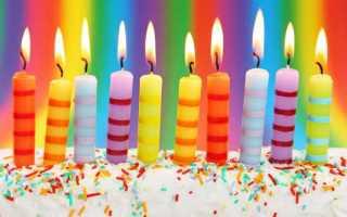 Поздравить юлю с днём рождения