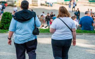 Классификация ожирения по индексу массы тела