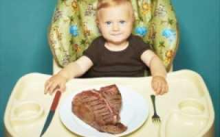 С какого возраста можно свинину детям: какие блюда приготовить, со скольки месяцев вводить в прикорм