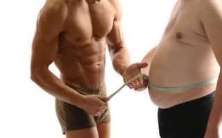 Как убрать пивной живот у мужчины