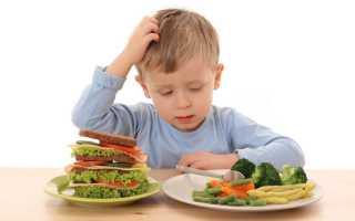 Диета при ацетоне у ребенка