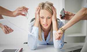 Причины развития стресса