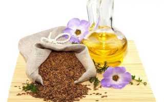 Как принимать льняное масло для похудения — основные правила