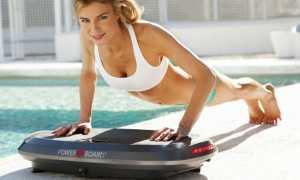 Виброплатформа для похудения: польза занятий на тренажере