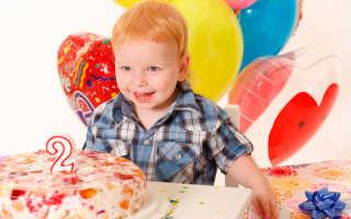 Что можно подарить сыну на 2 годика: идеи крутых подарков