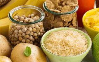 Углеводы — список продуктов для похудения: продукты, содержащие углеводы
