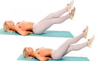 Упражнения чтобы убрать жир внизу живота: обзор базовых упражнений