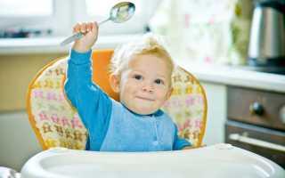 Как научить ребенка есть ложкой самостоятельно