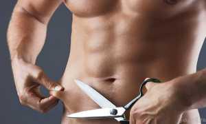Как убрать низ живота мужчине: спорт и питание