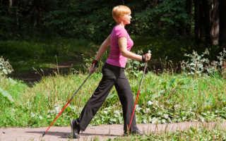 Скандинавская ходьба с палками для похудения: отрабатываем правильную технику