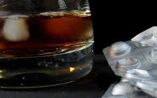 Антибиотики и алкоголь