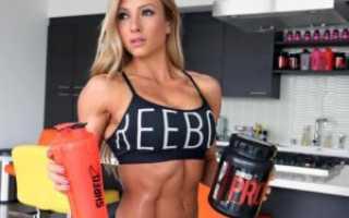 Спортивное питание для похудения для женщин