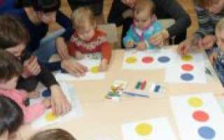 Занятия с ребенком 1 год
