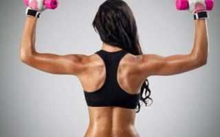 Упражнения для похудения спины: комплекс упражнений и общие рекомендации