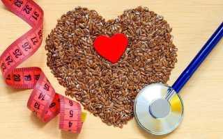 Семя льна для похудения и очищения