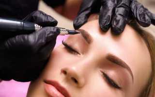 Перманентный макияж губ бровей глаз