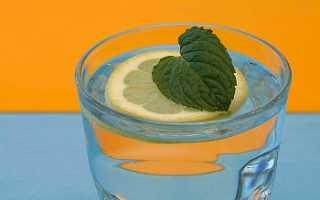 Вода с лимоном для похудения — рецепты похудения на лимонной воде