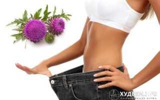 Расторопша для похудения: избавит от шлаков и поможет похудеть