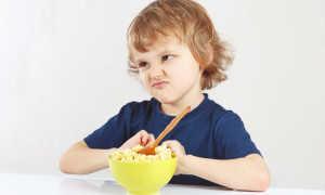 Потеря аппетита у детей как симптом