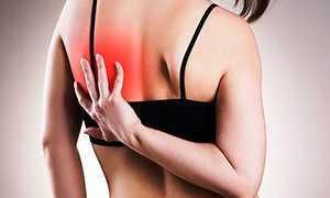 Болит спина в области лопаток справа и слева после сна