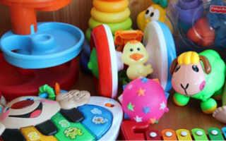 Игрушки для ребенка 8 месяцев