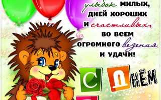 Поздравления с днём рождения племяшке