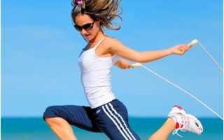 Прыжки на скакалке для похудения: правила и особенности тренировок