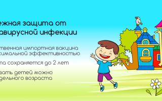 Прививка от ротавируса детям