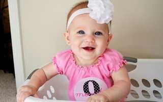 9 месяцев ребенку развитие