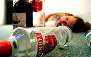 Отравление после алкоголя