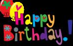 Поздравления на английском с днем рождения (с переводом)
