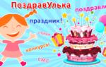 Поздравляем маму с днем рождения взрослой дочери