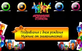 Текст поздравления с днем рождения мужчине