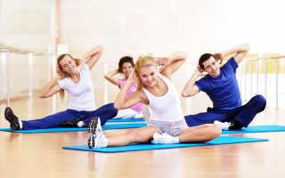 Упражнения для похудения живота и ляшек