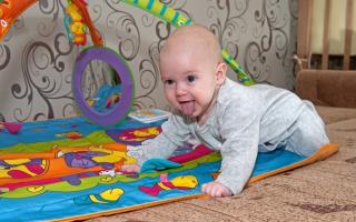 Чем развлечь ребенка 6 месяцев
