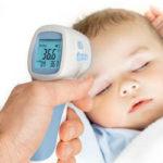 Где мерить температуру у грудничка электронным градусником или как правильно померить температуру младенцу - способы и виды градусников