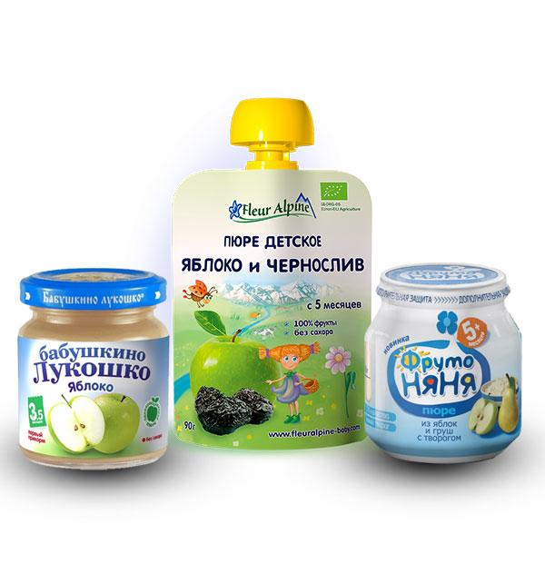 Пюре яблочное для грудничка в домашних условиях, как приготовить дома, советы и рецепты а также с какого возраста можно давать пюре из яблок малышу