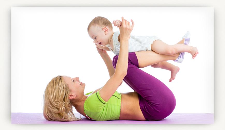 Безопасное похудение после родов
